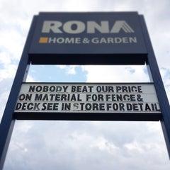 Photo taken at Rona by Ben L. on 8/4/2014