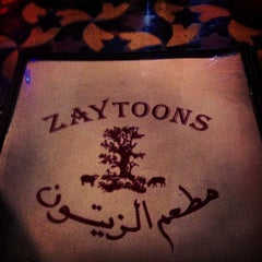 Photo taken at Zaytoon's by Laura S. on 1/11/2013