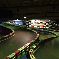 Photo taken at Indoor Karting Barcelona by Anna C. on 2/28/2013