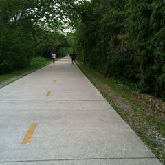 Photo taken at Katy Trail by Mike W. on 4/10/2013