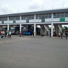 Photo taken at Terminal Purabaya (Bungurasih) by lady r. on 1/12/2013