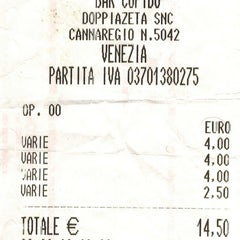 Photo taken at Snack Bar Cupido Venezia by Miroliub on 9/27/2013