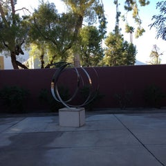 Photo taken at Palm Springs Public Library by Christian A. on 10/8/2013
