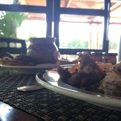 Photo taken at La Laguna Restaurant & Lounge by Alfredo V. on 12/8/2014