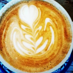 Photo taken at Gryphon Café by Ellen M. on 7/16/2013