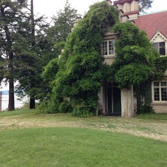 Photo taken at Sunnyside: Home of Washington Irving by Zaw T. on 6/14/2014
