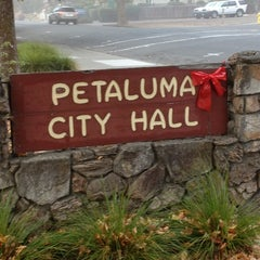 Photo taken at Petaluma City Hall by Mike H. on 10/25/2013