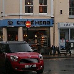 Photo taken at Caffè Nero by John E. on 2/6/2014