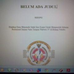 Photo taken at Politeknik Ilmu Pelayaran (PIP) Semarang by Hardika A. on 10/7/2013