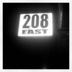 Photo taken at 208 East by Joshua T. on 9/25/2012