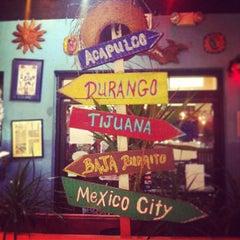 Photo taken at Baja Burrito by rosie s. on 12/21/2012