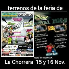 Photo taken at Feria Internacional de La Chorrera by Abdiel S. on 11/10/2014