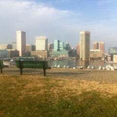 Photo taken at Federal Hill Park by Daniel K. on 12/2/2012