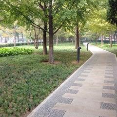 Photo taken at 皇城根遗址公园 Huangchenggen Yizhi Park by Daniel K. on 10/28/2013