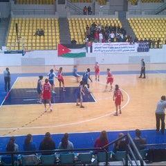 Photo taken at Sports City المدينة الرياضية by ziad l. on 2/16/2013