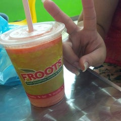Photo taken at Froots by vica S. on 10/7/2013