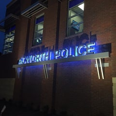 Photo taken at Acworth Police by Mark M. on 10/8/2014
