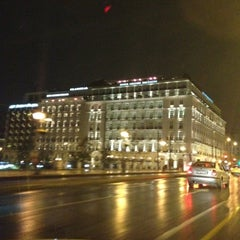 Photo taken at Hotel Grande Bretagne by Νίκος - Rezo on 11/19/2012