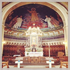 Photo taken at Basilica S.Cosma e Damiano by Kuzma G. on 5/22/2015