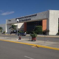 Photo taken at Aeropuerto Internacional de Guanajuato (BJX) by Rene C. on 11/3/2013