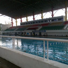 Photo taken at Pusat Akuatik Darul Ehsan (Aquatic Centre) by RAFIQAH R. on 12/22/2012