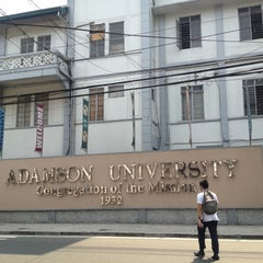 Photo taken at Adamson University by Tish T. on 5/2/2013