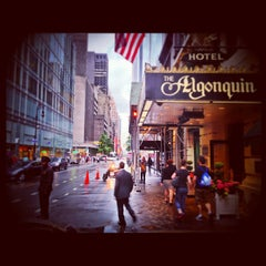 Photo taken at Algonquin Hotel Times Square, Autograph Collection by Anthony L. on 5/23/2013