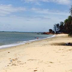 Photo taken at Ramunia Beach Resort @ Teluk Ramunia by Sate B. on 6/8/2014