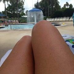 Photo taken at Splash Lagoon (North Village at Orange Lake Resort) by Wendy G. on 7/20/2014