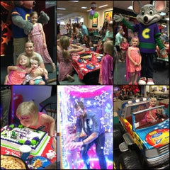 Photo taken at Chuck E. Cheese's by Jason B. on 7/11/2015