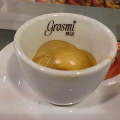 Photo taken at Caffè Grosmi by Csaba H. on 1/2/2013