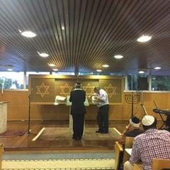 Photo taken at Sinagoga da Hebraica by Jose Luiz G. on 2/20/2015