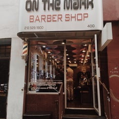Photo taken at On The Mark Barbershop by ilny on 5/19/2014