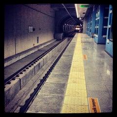 Photo taken at Esenler Metro İstasyonu by VOLKAN Y. on 8/4/2013