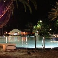 Photo taken at Hard Rock Hotel Beach Pool by Jane on 12/16/2012