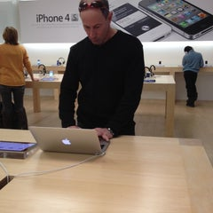 Photo taken at Apple Store, Cherry Creek by Mando on 2/26/2012