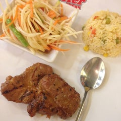 Photo taken at Jeffer Steak (เจฟเฟอร์) by Momorin M. on 7/30/2014