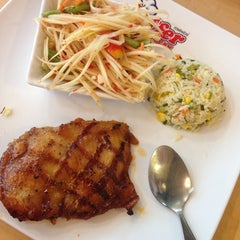 Photo taken at Jeffer Steak (เจฟเฟอร์) by Momorin M. on 6/30/2014