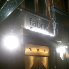 Photo taken at Fabric by JB on 9/27/2012