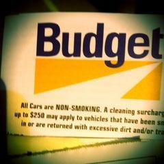 Photo taken at Budget Car Rental by Tawmis L. on 4/24/2013