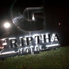 Photo taken at Hotel Griptha by Dani A. on 9/20/2014