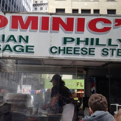 Photo taken at Dominic's Food Truck by James B. on 11/30/2012