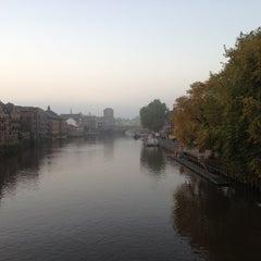 Photo taken at Skeldergate Bridge by Shreena on 10/21/2012