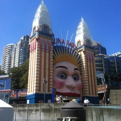 Photo taken at Luna Park by eClaire S. on 12/27/2012
