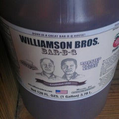 Photo taken at Williamson Bros Bar-B-Q by Joseph M. on 1/15/2013
