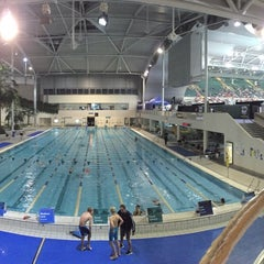 Photo taken at Sydney Olympic Park Aquatic Centre by ⓗⓐⓡⓡⓘⓔⓣ ⓐ. on 4/17/2015