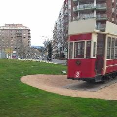 Photo taken at Plaça de Granollers by Jordi P. on 2/13/2014