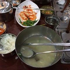 Photo taken at 무교동 북어국집 by Alvin on 12/26/2015