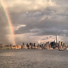 Photo taken at Hudson River by Suzanne P. on 7/4/2013