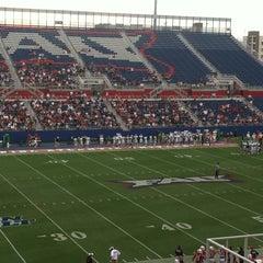Photo taken at FAU Football Stadium by Lia L. on 9/29/2012